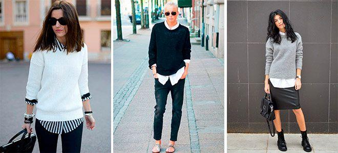 История появления пуловера