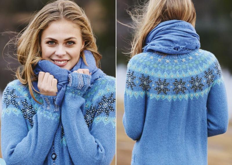 Особенности скандинавских свитеров